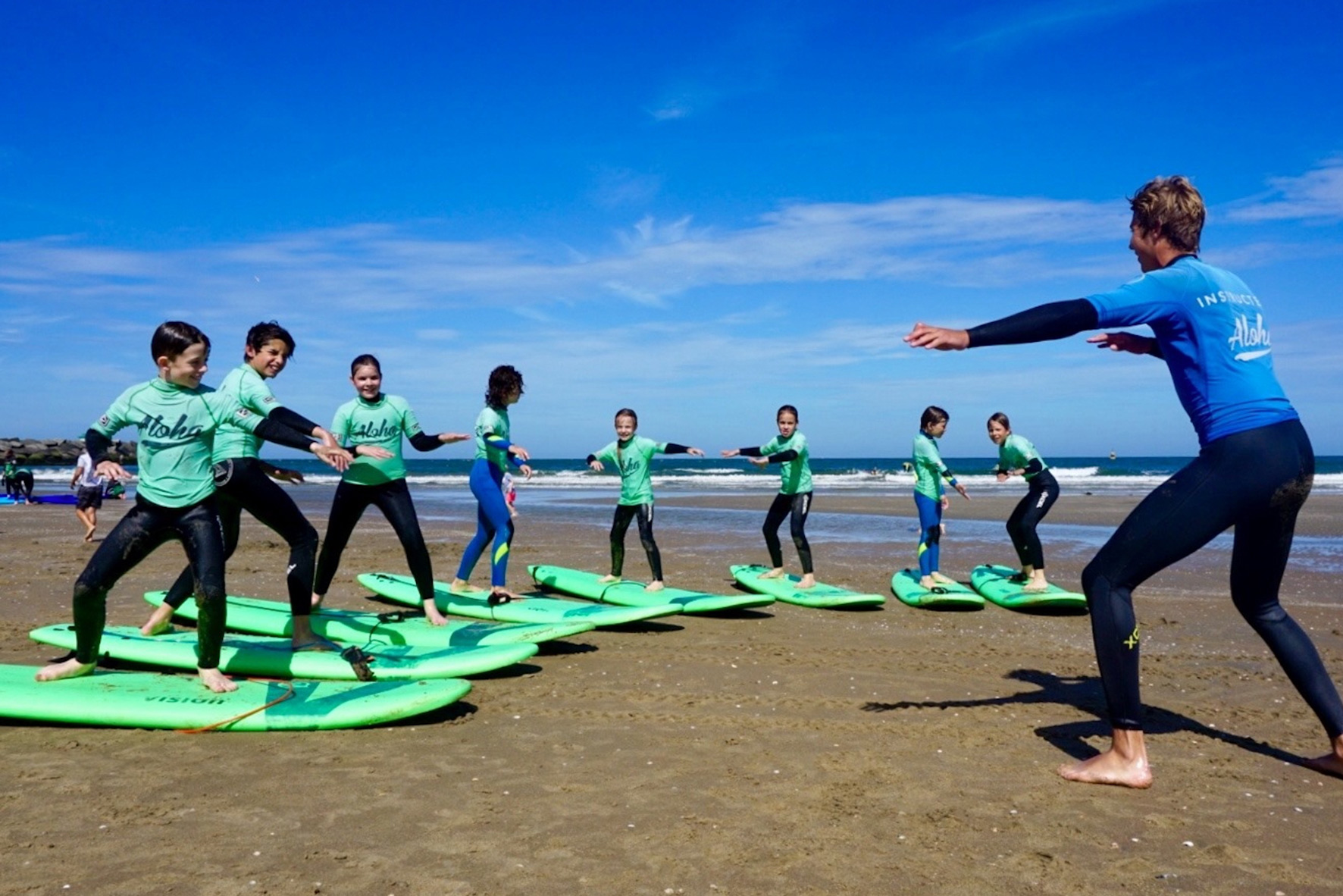 Group Lesson Surf Kids
